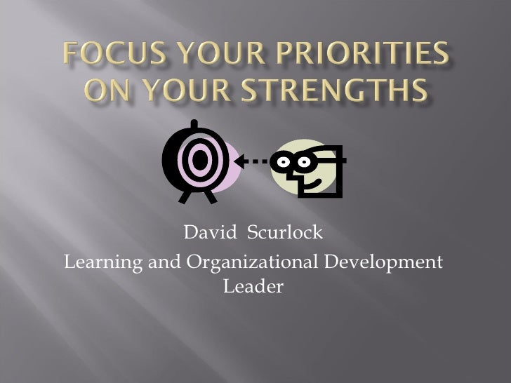 David  Scurlock Learning and Organizational Development Leader