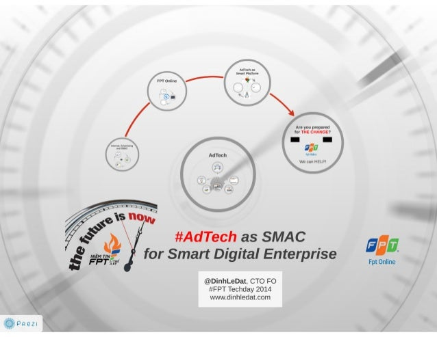 AdTech as SMAC for Smart Digital Enterprise - FPT Techday 2014