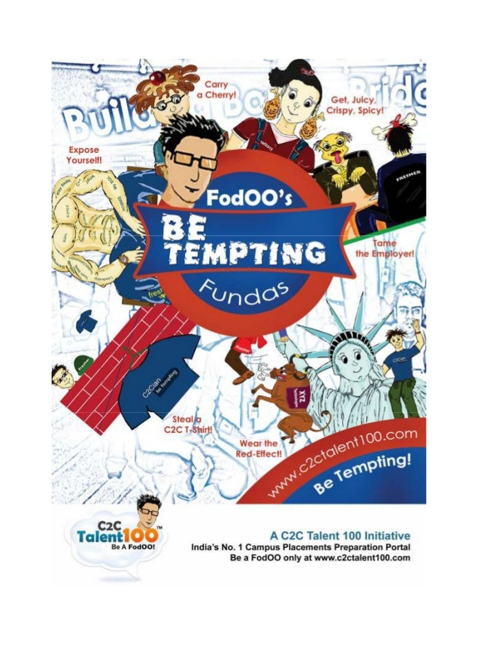 """FodOO's 'Be Tempting' Fundas                  """"What does it take to be successful?""""                  """"How do we build a ma..."""