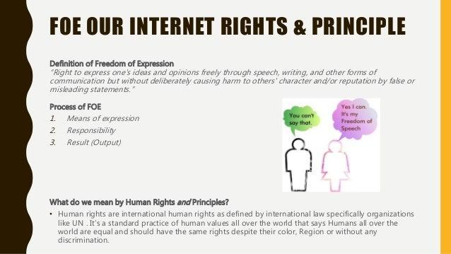 Freedom of Expression our Internet Rights and Principle by Shreedeep Rayamajhi for Sri Lanka IGF2016 Slide 2