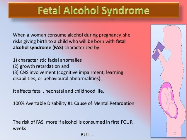 a description of fetal alcohol syndrome as a title given to an irreversible A less severe form of fetal alcohol syndrome is known by all of the following terms except alcohol-related neurodevelopmental disorder fetal alcohol spectrum disorder.