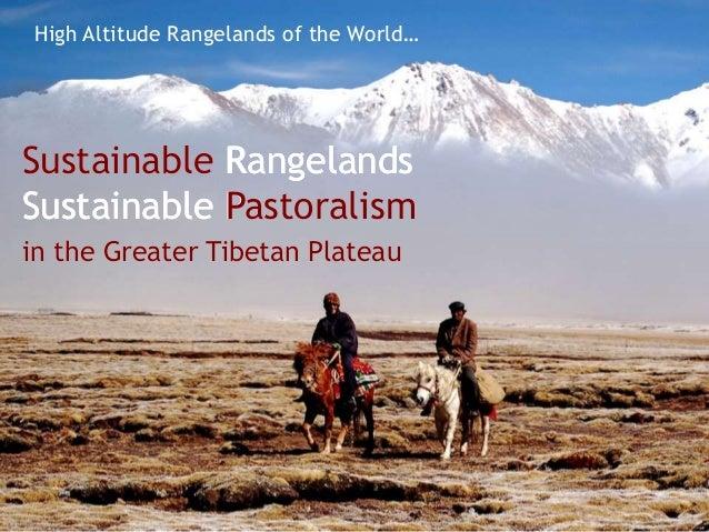 Sustainable Pastoralis...