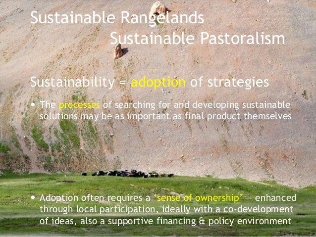 Climate change Pastoralism  Rangelands  Sustainability