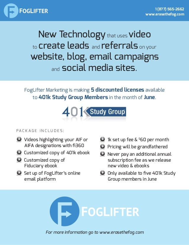 New Technologythat uses video to create leads and referralson your website, blog, email campaigns and social media sites. ...