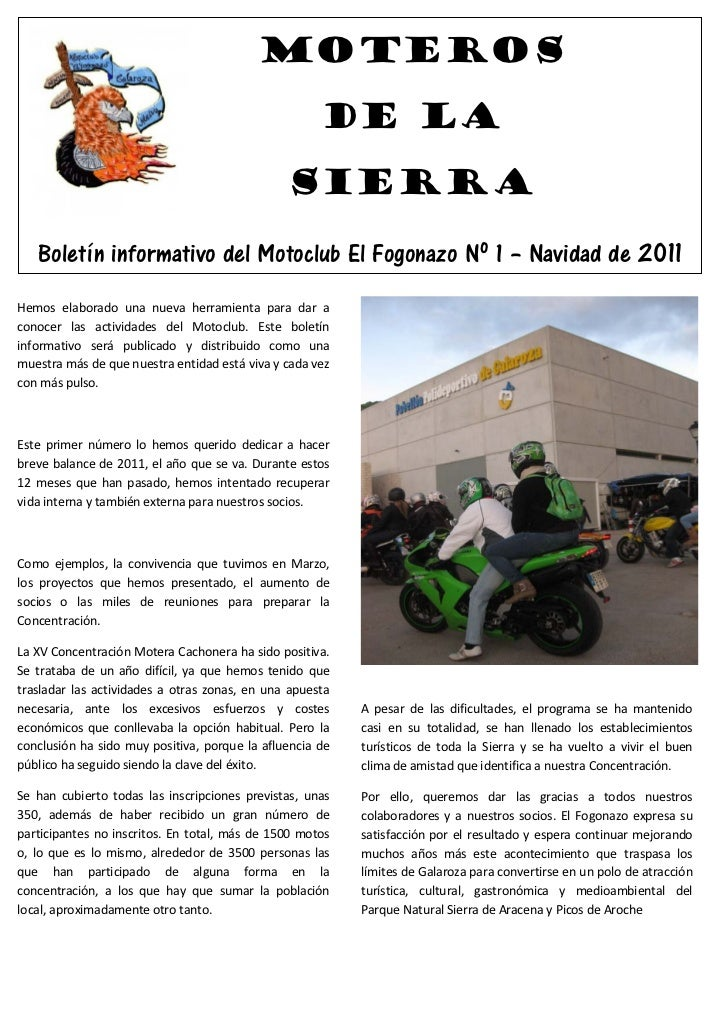 Moteros                                                     de la                                               Sierra    ...