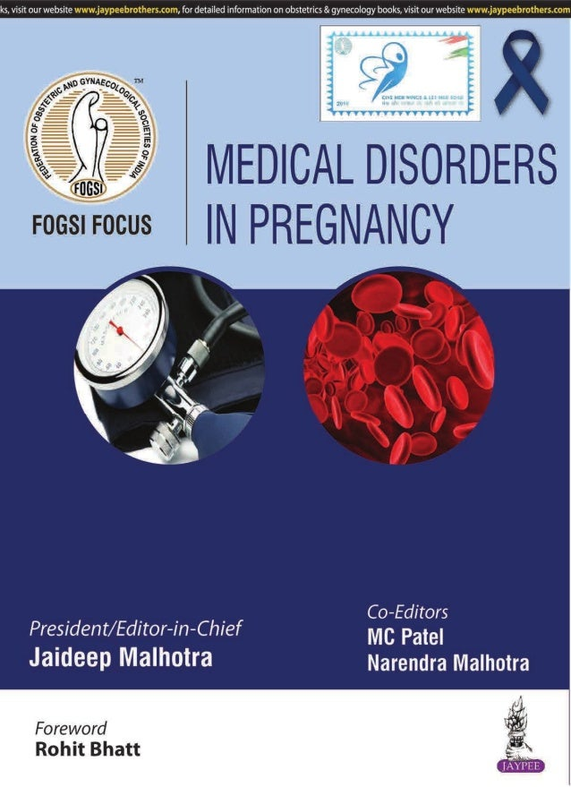 FOGSI FOCUS Medical Disorders in Pregnancy