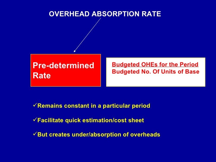 overhead absorption Variable costing vs absorption costing system what is the difference between variable costing and absorption costing system read this article to find answer of this question.