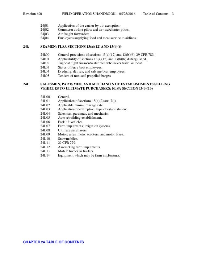 Chapter 24 - Transportation Exemptions - Field Operations ...