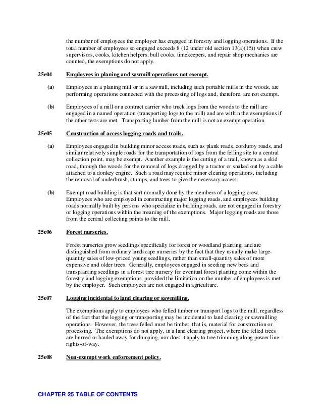 Adjudicators field manual chapter 25 american