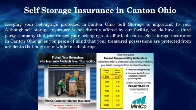 4. Self Storage Insurance In Canton Ohio Keeping Your Belongings Protected  ...