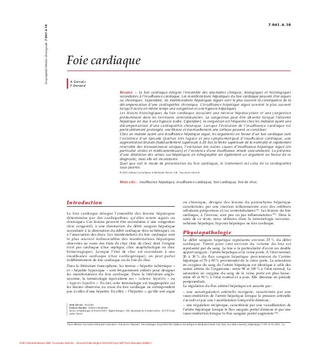 7-041-A-10                      Encyclopédie Médico-Chirurgicale 7-041-A-10                                               ...
