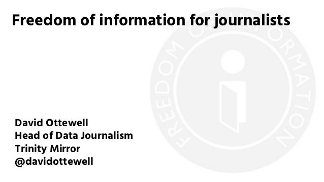 Freedom of Information for journalists