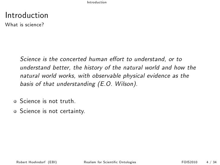 realism science