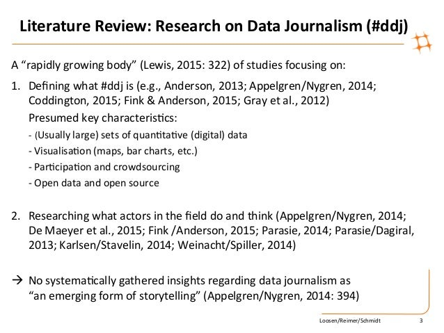 pay for journalism literature review