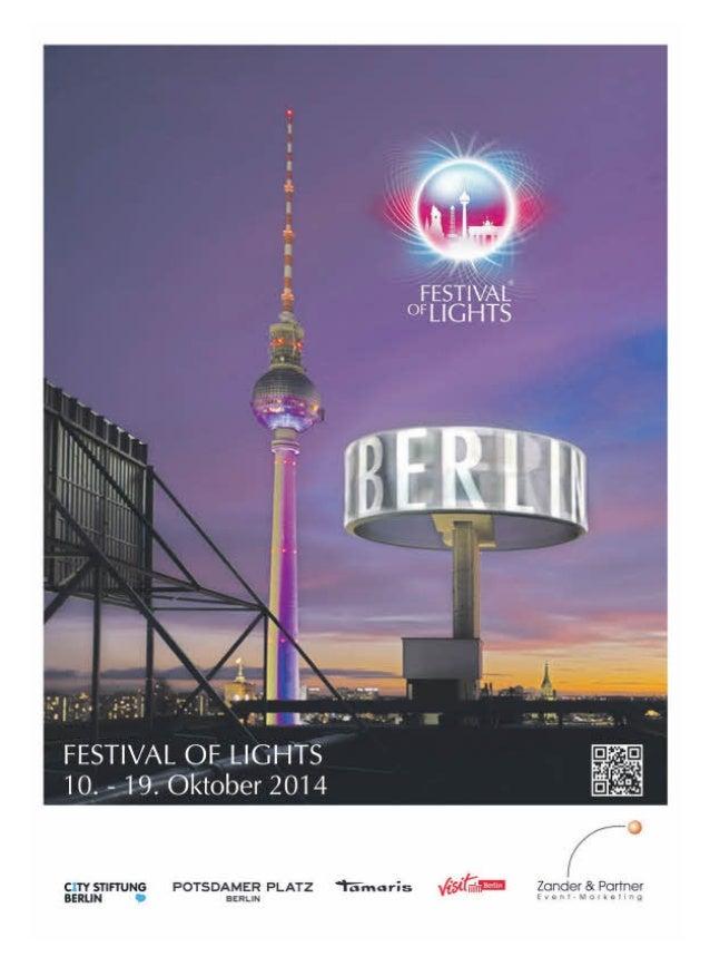 Sonderbeilage Berliner Zeitung Festival of Lights