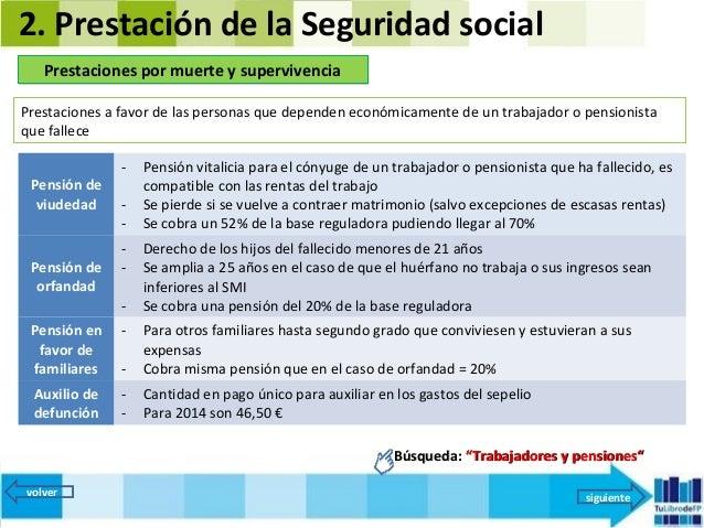Fol 7 seguridad social y desempleo 2014 versi n 97 2003 - Se cobra la pension el mes de fallecimiento ...