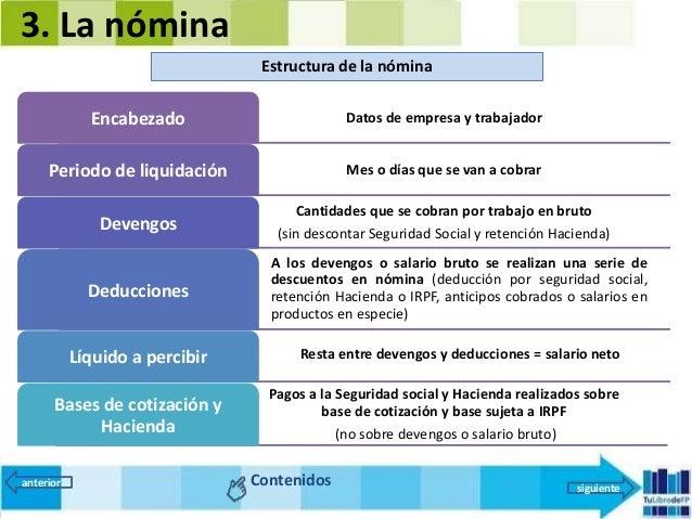 Fol 8 el salario y la n mina 2016 for Liquidacion de nomina excel 2016