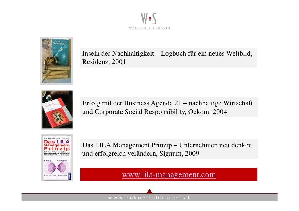 Inseln der Nachhaltigkeit – Logbuch für ein neues Weltbild, Residenz, 2001     Erfolg mit der Business Agenda 21 – nachhal...