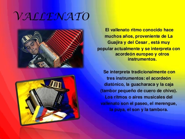 colombian folklore The us-colombia trade promotion agreement took effect on may 15, 2012 as  a result of the agreement, 80 percent of us consumer and industrial goods.