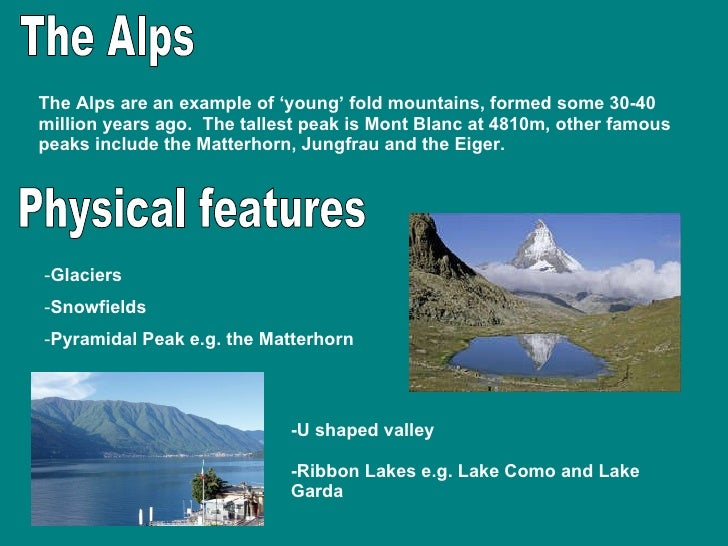 Fold Mountains Revision
