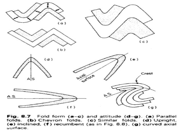 Structural Geology Folds