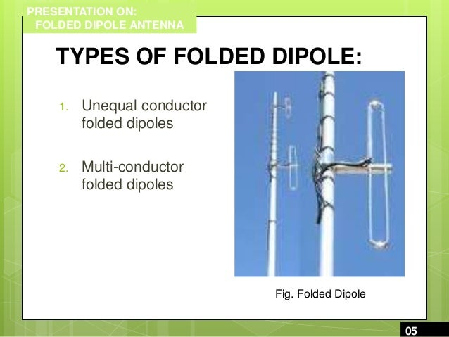 Folded dipole antenna ppt to pdf