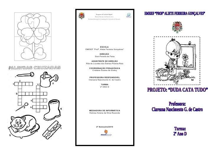 Programa de Inclusão Digital                Planeta Educação em Parceria com a   Prefeitura Municipal de Guaratinguetá e S...