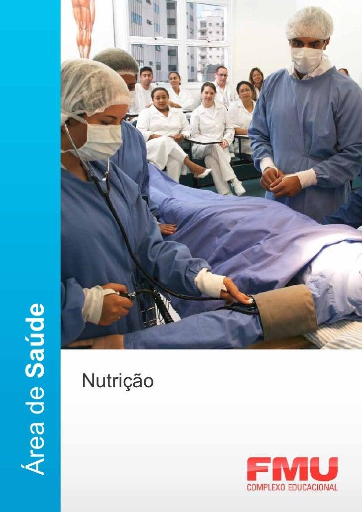 Área de Saúde      Nutrição