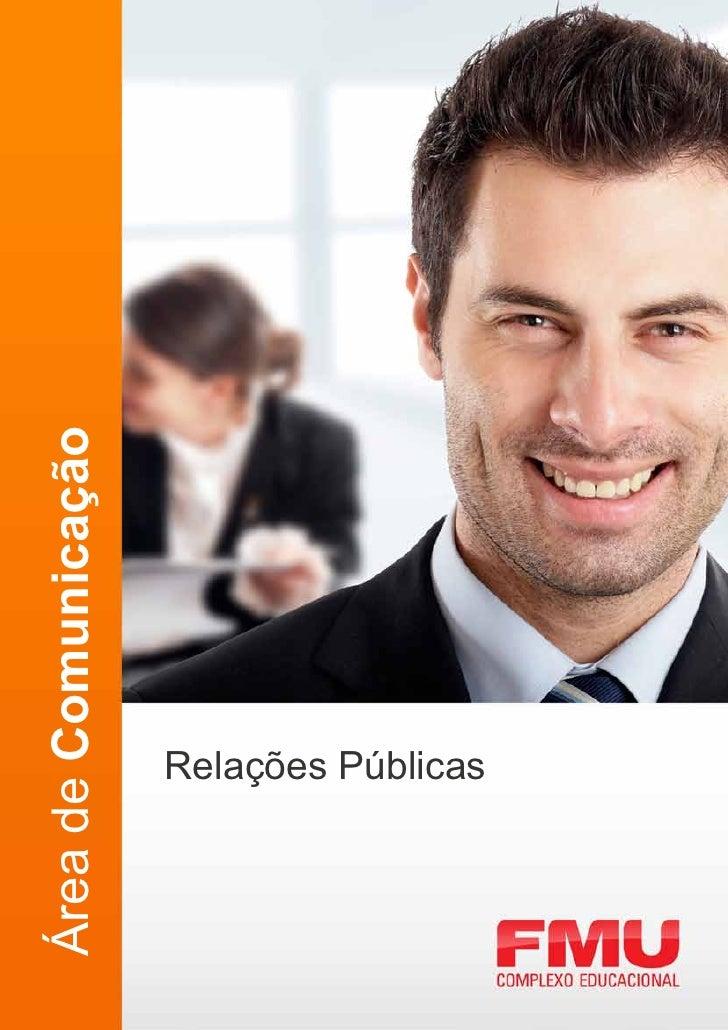 Área de Comunicação     Relações Públicas