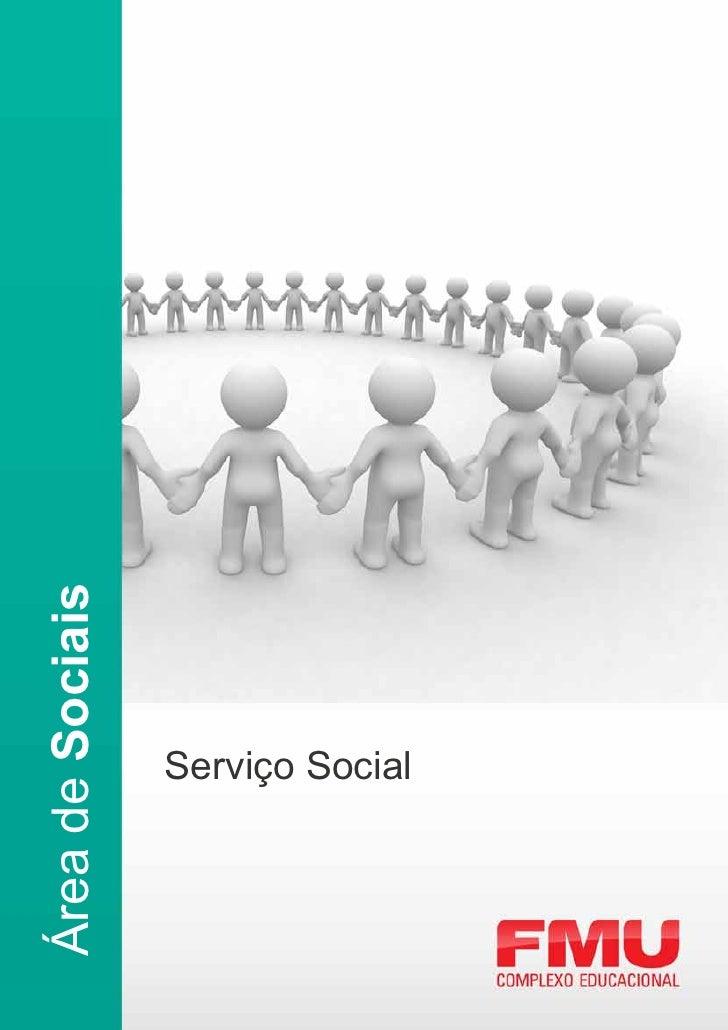 Área de Sociais      Serviço Social