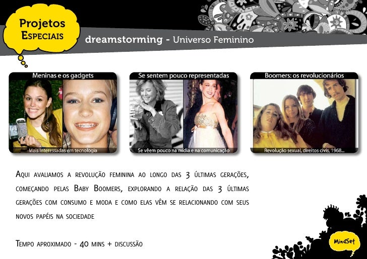 Projetos  EspEciais           dreamstorming - Social Networking     rumos, tipos dE sErviços E Estratégias intErEssantEs n...