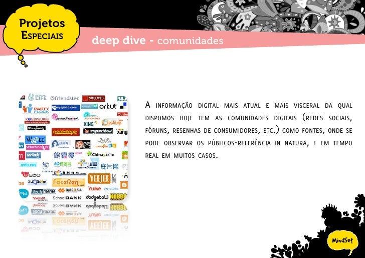 Projetos EspEciais   deep dive - livros                           com o objEtivo dE complEmEntar nosso rEpErtório digital ...
