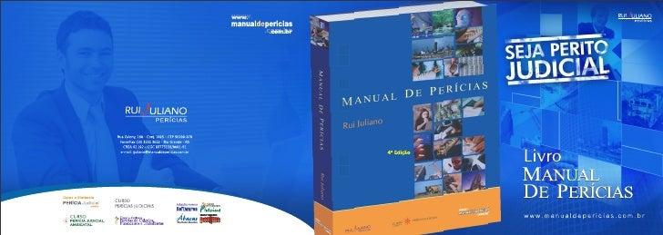 Livro Manual de Perícias
