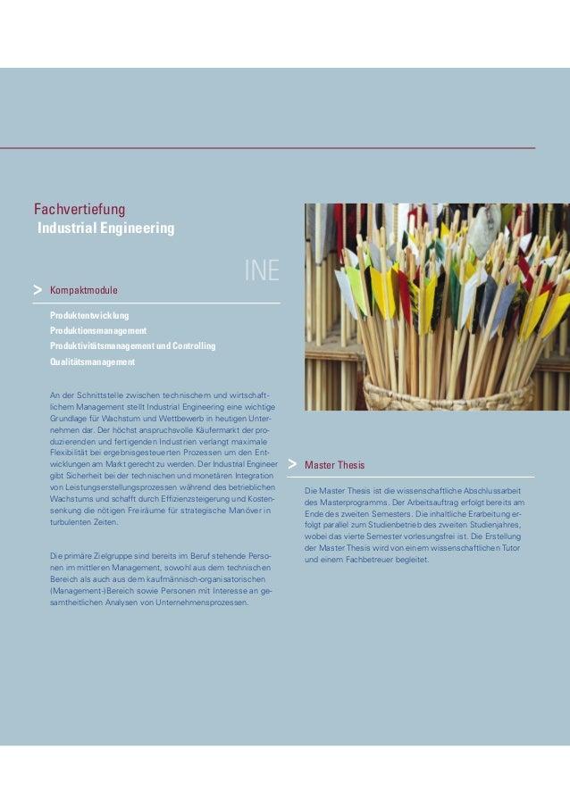 INEKompaktmodule Produktentwicklung Produktionsmanagement Produktivitätsmanagement und Controlling Qualitätsmanagement An ...