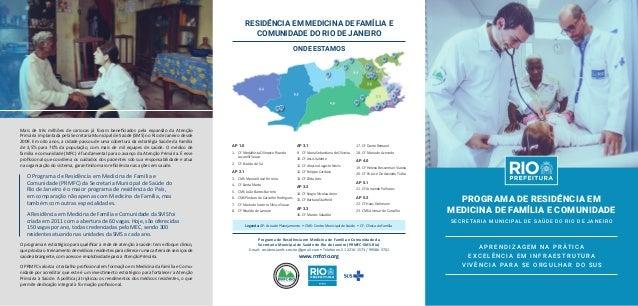 Mais de três milhões de cariocas já foram beneficiados pela expansão da Atenção Primária implantada pela Secretaria Munici...