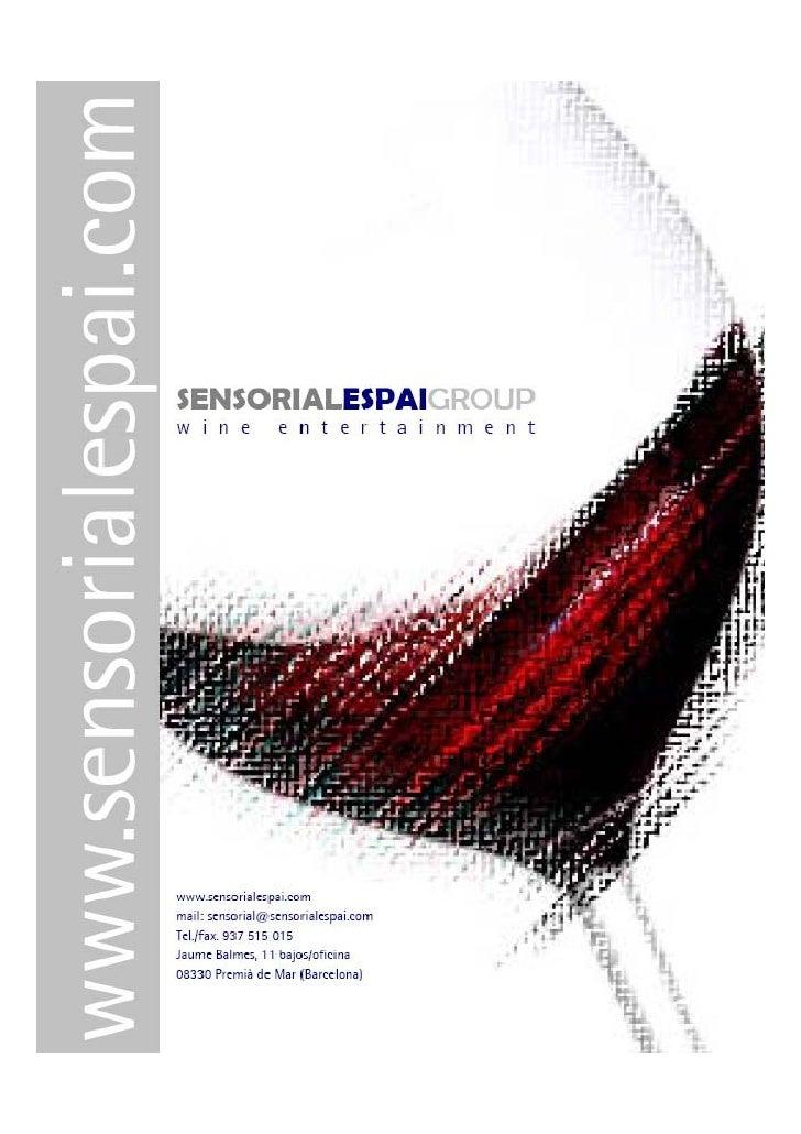 Nuestra MisiónDesde sus inicios, la vocación de Sensorial Espai Group ha sidoofrecer un Servicio de Autor, aportando nueva...