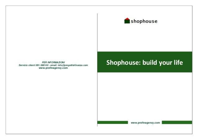 PER INFORMAZIONIServizio clienti 091.588140 - email: info@progettiefinanza.com                                            ...