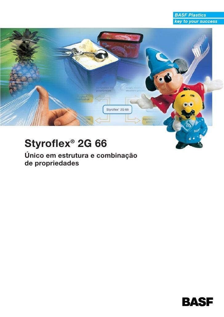Styroflex® 2G 66Único em estrutura e combinaçãode propriedades
