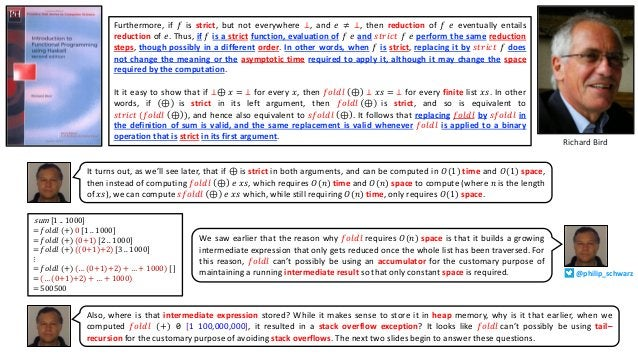 Furthermore, if 𝑓 is strict, but not everywhere ⊥, and 𝑒 ≠ ⊥, then reduction of 𝑓 𝑒 eventually entails reduction of 𝑒. Thu...