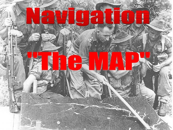 """Navigation  """"The MAP"""""""
