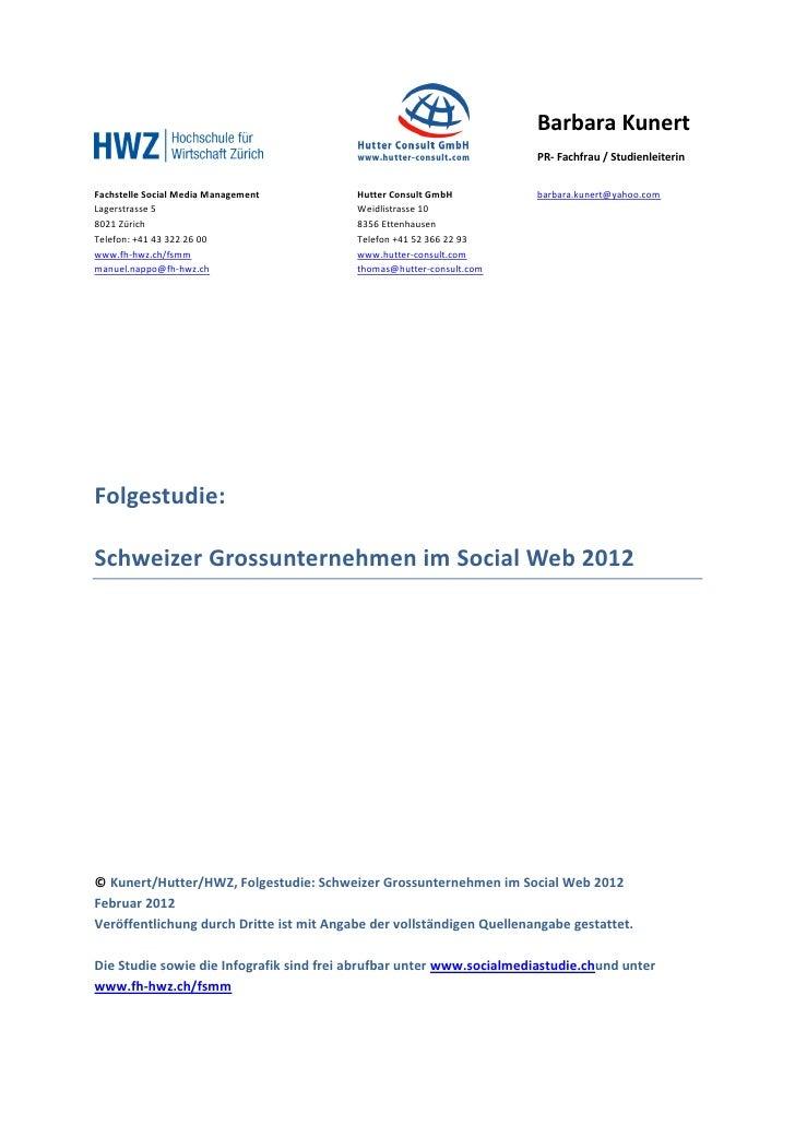 Barbara Kunert                                                                       PR- Fachfrau / StudienleiterinFachste...