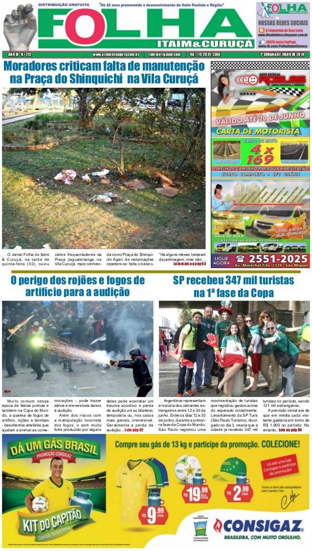 O Jornal Folha do Itaim & Curuçá, na tarde de quinta-feira (03), ouviu vários frequentadores da Praça Jaguamitanga, na Vil...