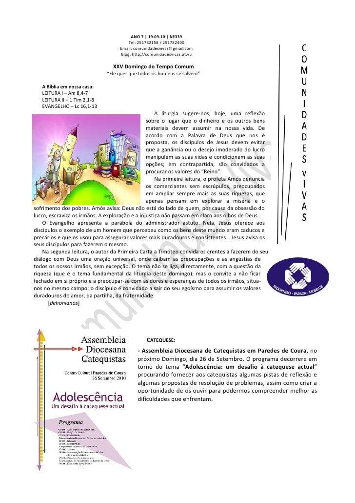 Folha Dominical - 19.09.10 Nº339