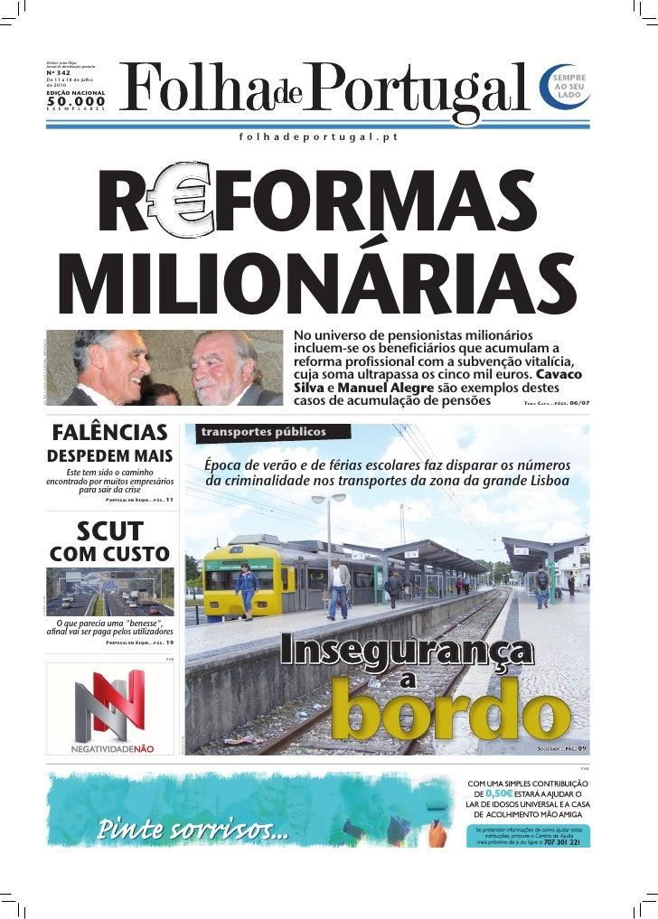 Diretor: João Filipe                                  Jornal de distribuição gratuita                                  Nº ...