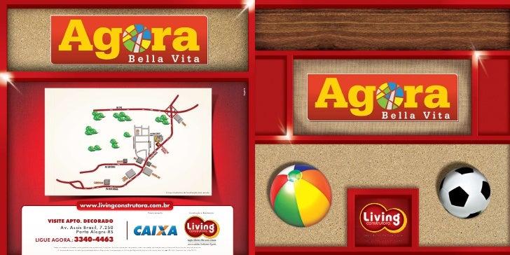 Croqui ilustrativo de localização sem escala                                    www.livingconstrutora.com.br              ...