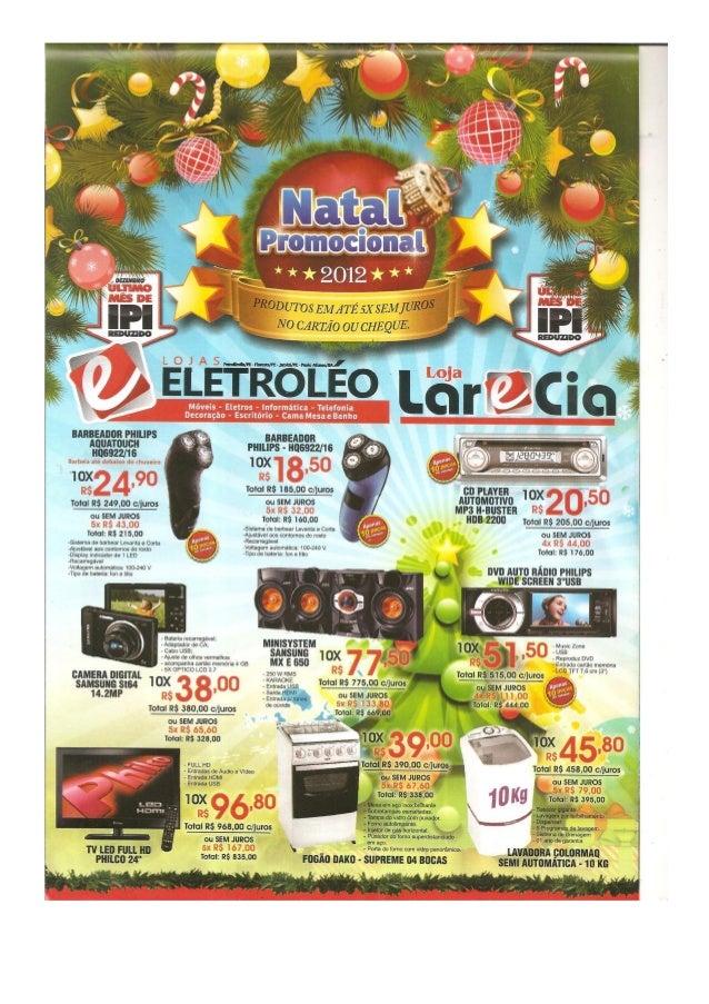 Ofertas de Natal da Eletroléo