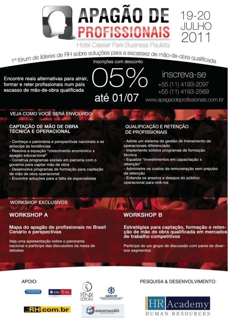 Folheto Apagao Profissionais   5%