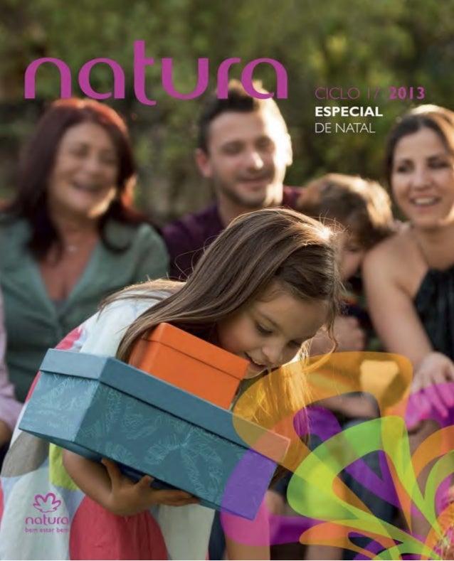 Natura Folheto Natal Ciclo17 - Novembro 2013