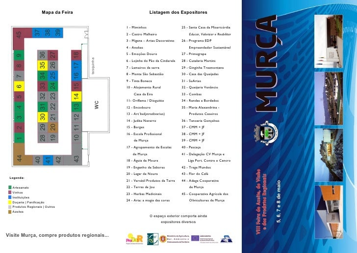 Mapa da Feira                               Listagem dos Expositores                                                1 - Mi...