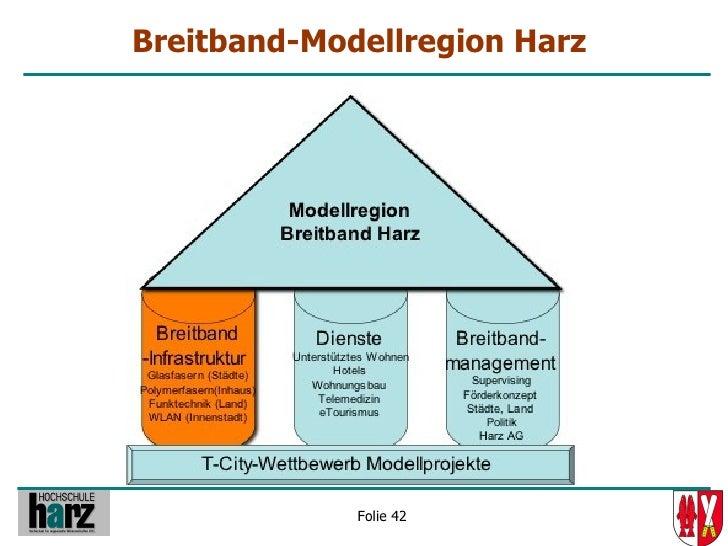 Breitband-Modellregion Harz                  Folie 42